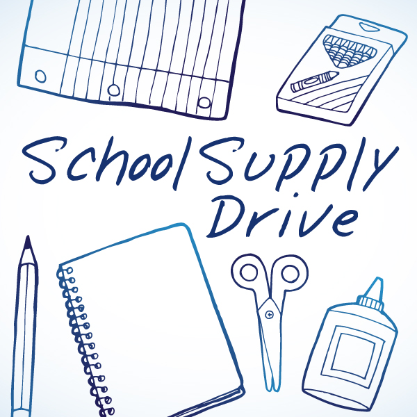School Supply Drive St Lukes