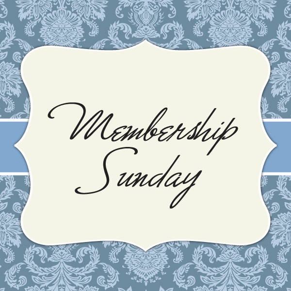 Membership Sunday
