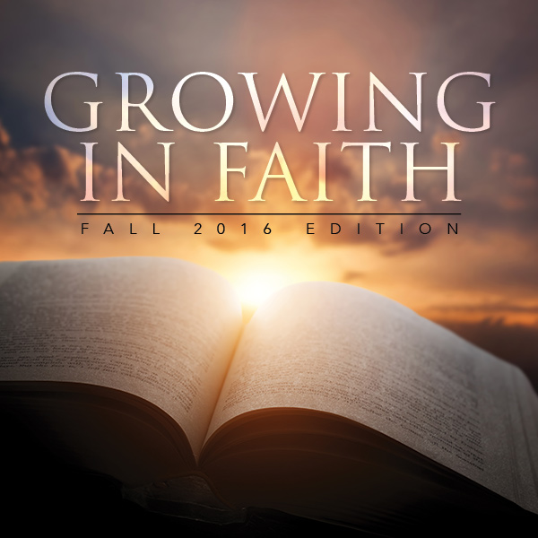 Growing In Faith - WNA