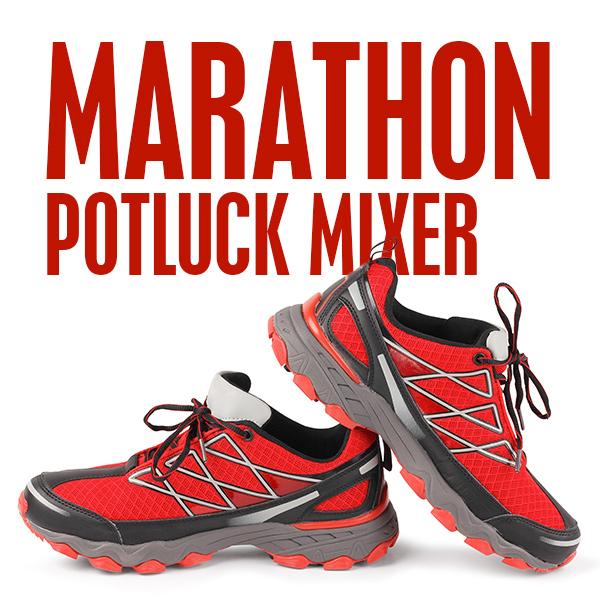 Marathon Potluck Mixer