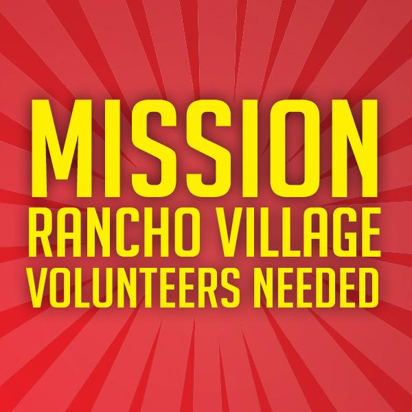 Rancho Village Volunteer