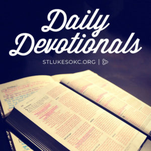 Daily Devotional - scripture-Web